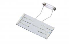 Kit de lámparas led para plafón rectangular