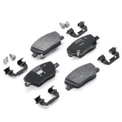 Pastilla de freno de disco delantero (set de 4 piezas) para Fiat Fullback