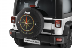 Funda para rueda de repuesto con brújula