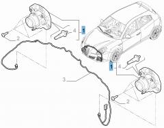 Faro antiniebla delantero para Alfa Romeo Giulietta