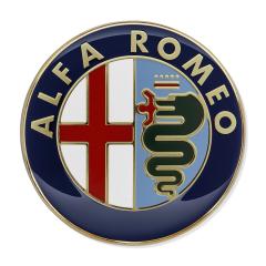 Insignia Alfa Romeo puerta trasera para Alfa Romeo