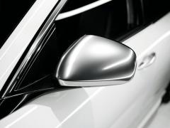 Carcasas para espejos retrovisores cromado satinado para Alfa Romeo