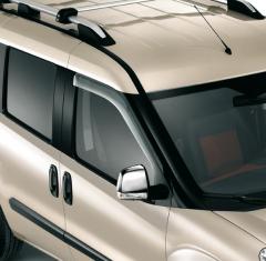 Deflectores de aire para ventanillas delanteras para Fiat y Fiat Professional Doblò