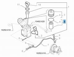 FILTRO DEL ACEITE (Essential Parts)
