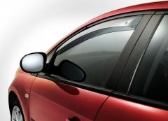 Deflectores antiturbulencia delanteros para ventanillas para Fiat Bravo
