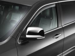 Deflectores de aire tintados para ventanillas delanteras para Jeep Grand Cherokee