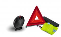 Kit de seguridad con triángulo y chaleco reflectante para Fiat Professional Talento