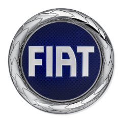 Insignia Fiat delantera para Fiat y Fiat Professional