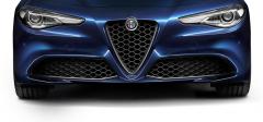 Rejilla Frontal En «V» De Carbono Para Versiones Super Y Giulia